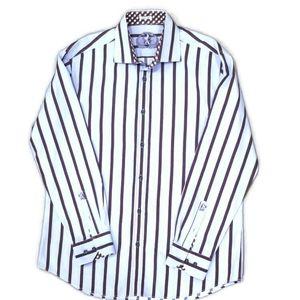 ⭐2/$30⭐ Bugatchi Shirt sz 16.5 33